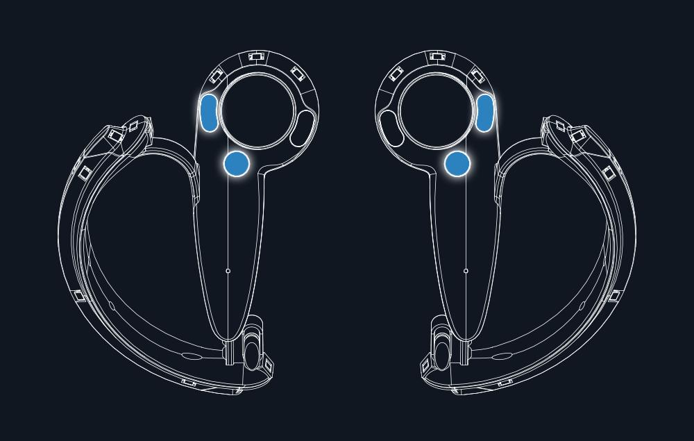 Новый VR-контроллер Valve отслеживает все пять пальцев руки