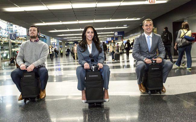 Modobag: некогда объяснять, запрыгивай на чемодан!