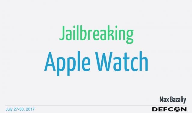 На DEFCON показали джейлбрейк Apple Watch
