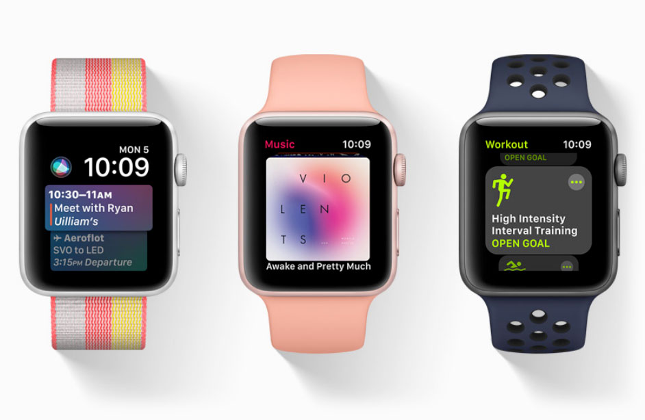 Стали известны дата выхода и цена Apple Watch третьего поколения