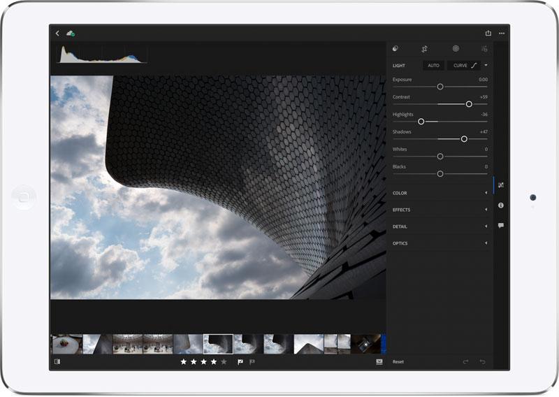 Adobe Lightroom для iOS получил поддержку Apple Pencil и 3D Touch