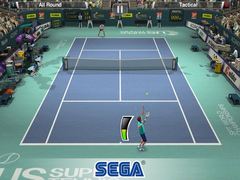 Virtua Tennis Challenge – как лучший теннис стал бесплатным