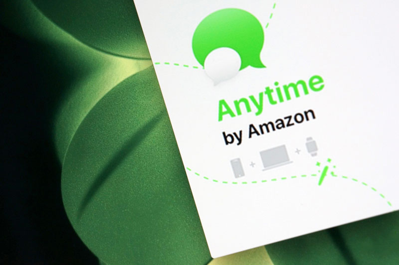 Amazon работает над собственным мессенджером Anytime для конкуренции с iMessage