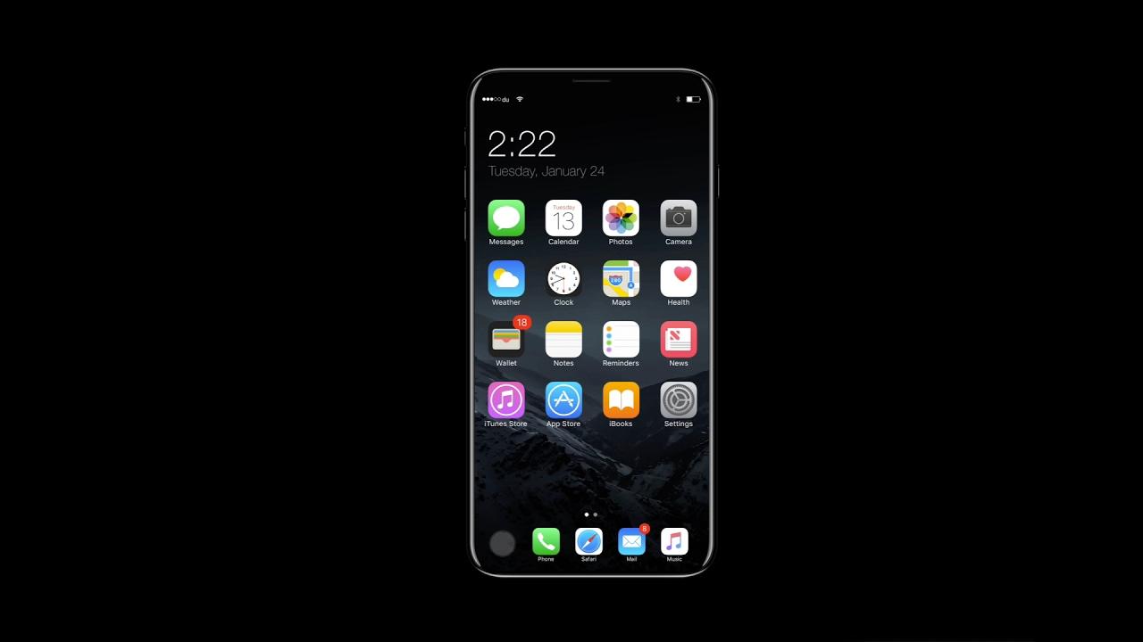 Беспроводной зарядке в iPhone 8 быть!