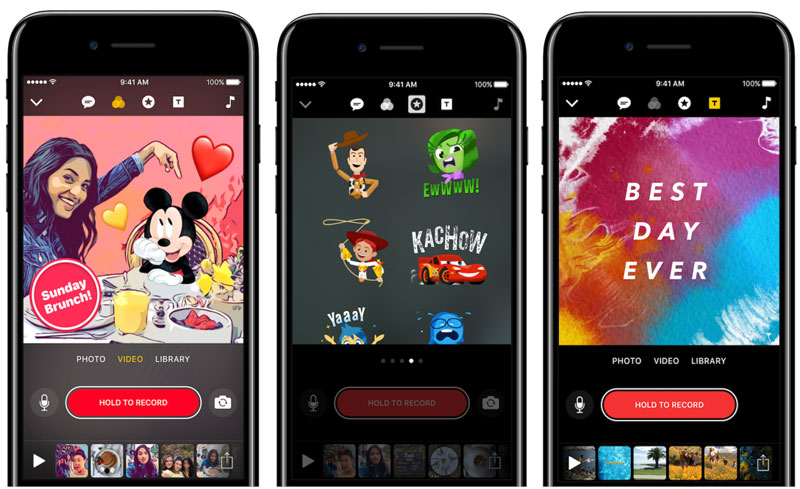 Apple выпустила обновление Clips с новыми фигурками и персонажами Disney и Pixar