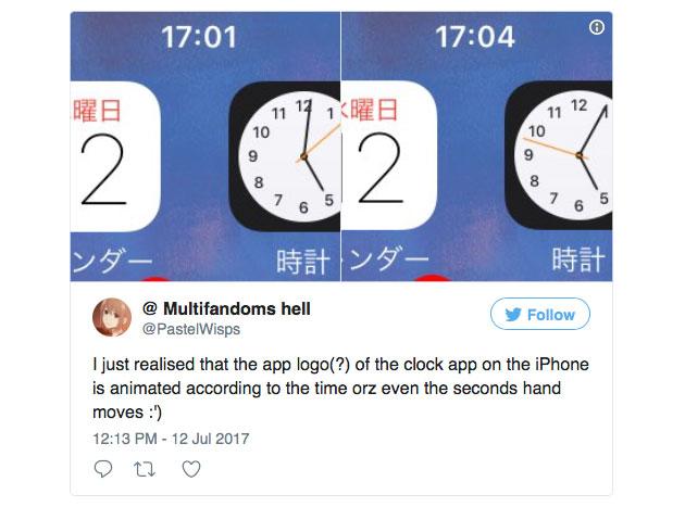 Видео с «секретной» функцией часов на iPhone стало хитом в сети