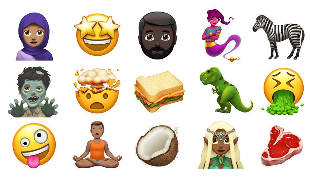 Apple ко Всемирному дню эмодзи представила новую коллекцию смайликов, которые появятся в iOS 11