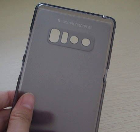 Фотографии чехлов для Samsung Galaxy Note 8 подтверждают главную проблему «убийцы» iPhone 8