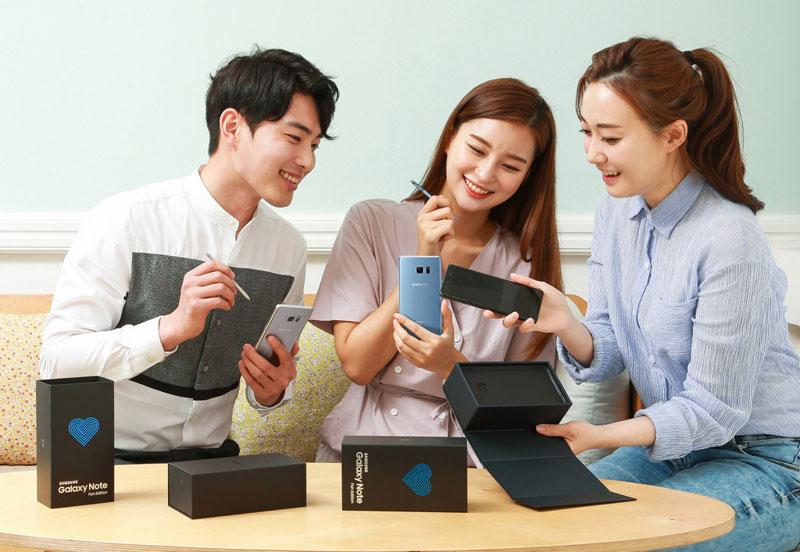 Смартфон Samsung Galaxy Note FE оказался популярнее, чем ожидалось