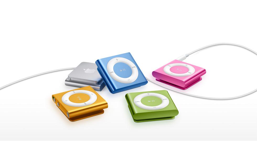 Отказ Apple от iPod shuffle ознаменовал конец эры физических кнопок