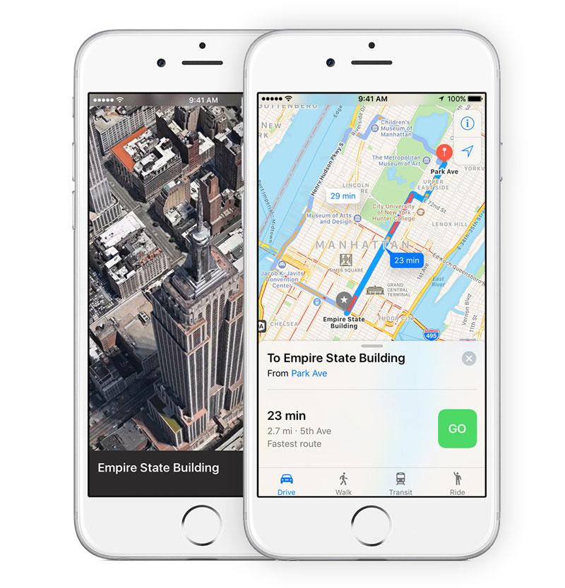 Apple добавила в iOS 11 новый жест для изменения масштаба на картах одним пальцем