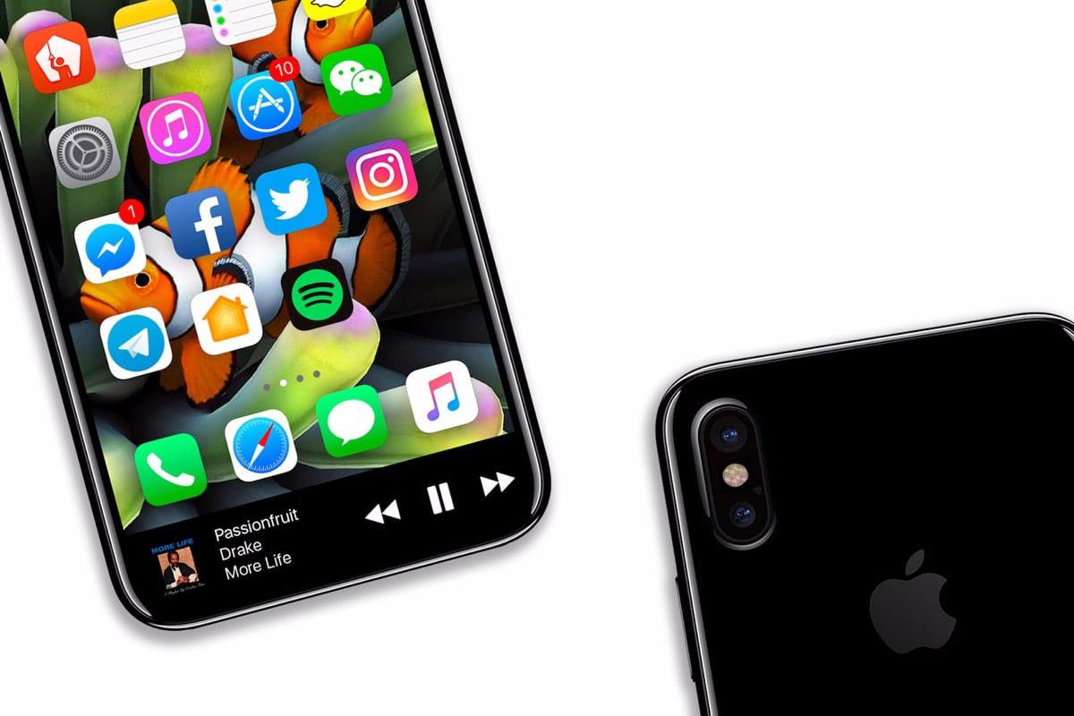 Источник в Apple подтвердил необычное расположение сканера Touch ID в iPhone 8