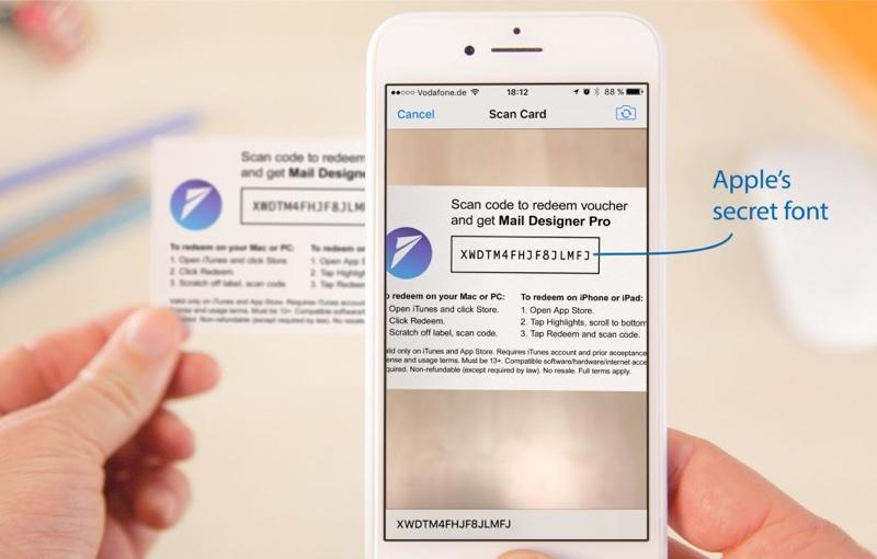 Раскрыт секрет промо-кодов на подарочных картах iTunes