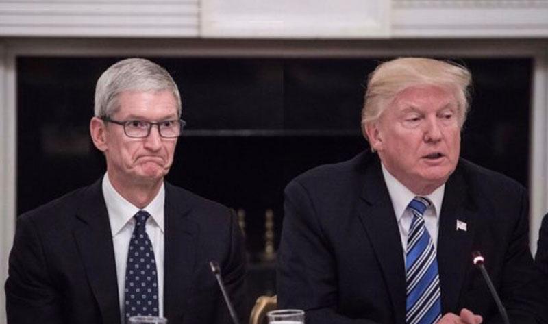 Apple потратила на лоббирование рекордные $3,6 млн за полгода президентства Трампа