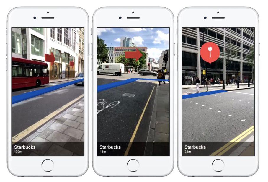 Навигация с дополненной реальностью: крутые примеры приложений, созданных с помощью ARKit в iOS 11