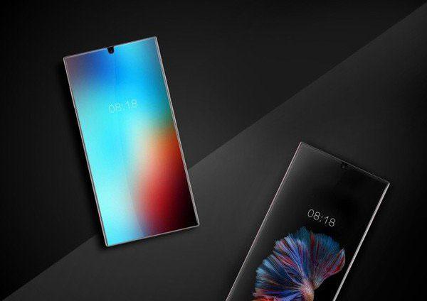 В сеть утекло фото нового безрамочного смартфона Sharp