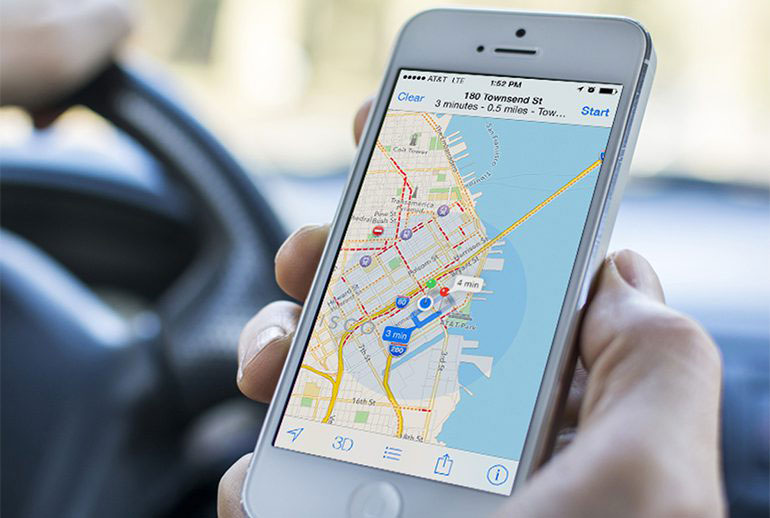 Автомобили Apple Maps заметили на улицах испанских городов