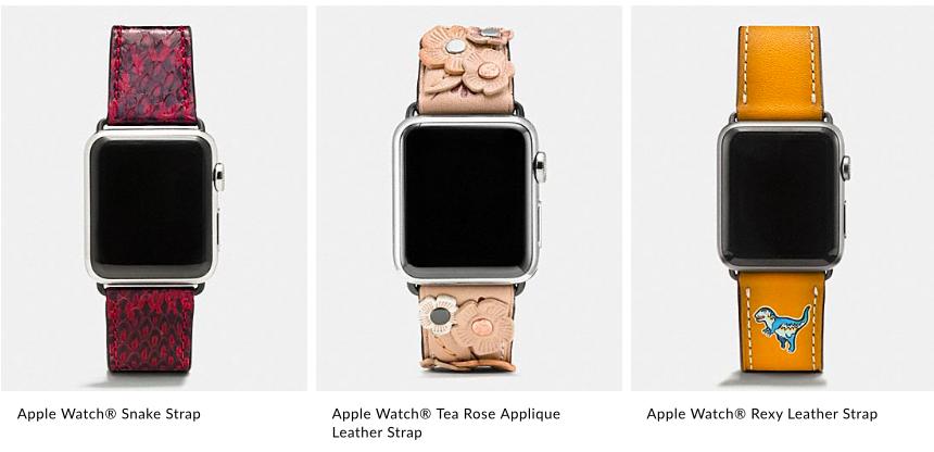 Новые ремешки для Apple Watch скоро появятся в продаже