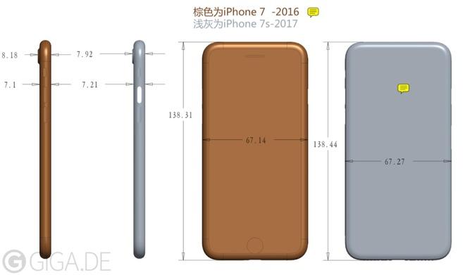 Стеклянный iPhone 7s будет немного толще предшественников