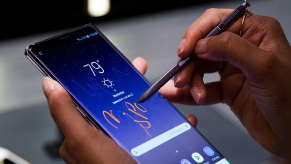 Samsung уделила большое внимание аккумуляторам Galaxy Note8