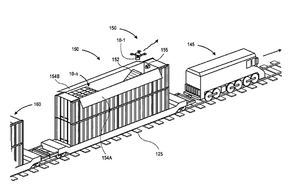 Новый патент Amazon на беспилотную доставку