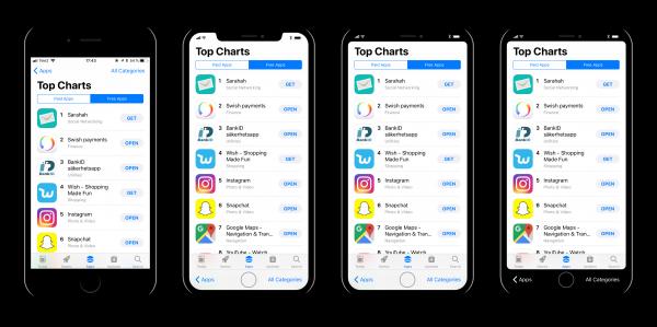 Дизайнер создал несколько вариантов интерфейса iOS 11 на iPhone 8