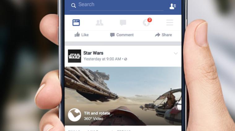 Новая фича в приложении Facebook: фотографии в 360 градусов