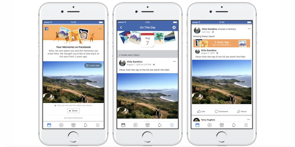 Новый алгоритм в ленте Facebook избавит от негативных воспоминаний