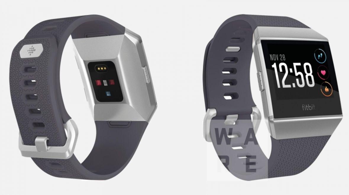 В сеть слили рендеры будущих смарт-часов Fitbit