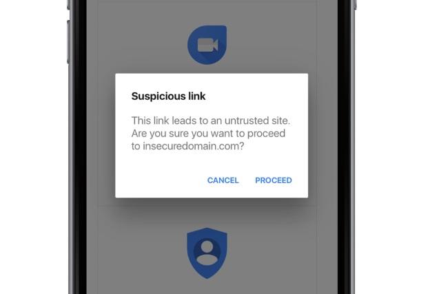 В Gmail на iOS появились предупреждения о подозрительных ссылках