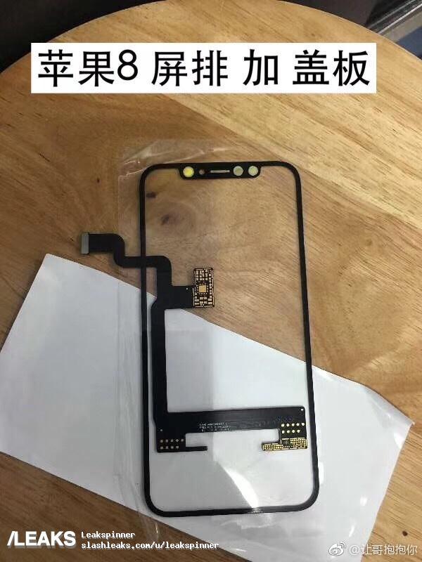 В сеть снова утекли компоненты iPhone 8