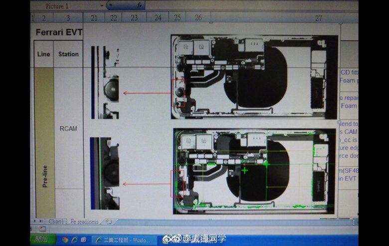 Блогер опубликовал рентген iPhone 8