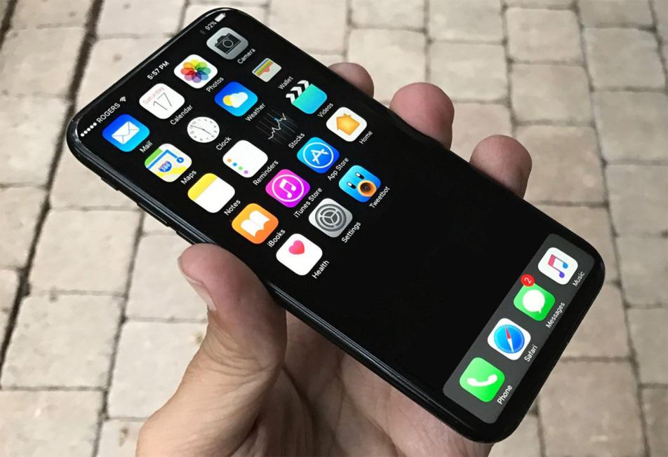 Виртуальная кнопка Home в iPhone 8 cможет менять размер и прятаться