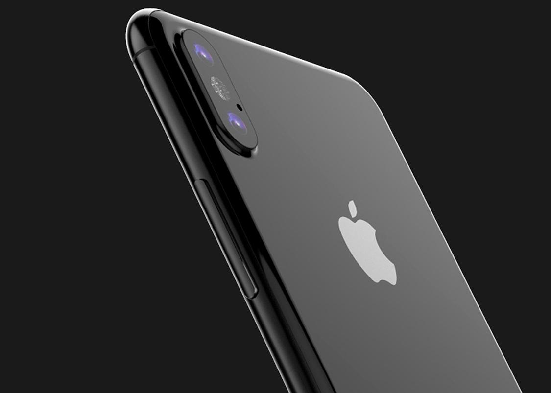 Предполагаемый iPhone 8 в черном цвете показали на видео