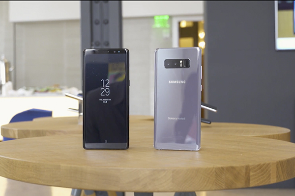 Samsung представила Galaxy Note 8