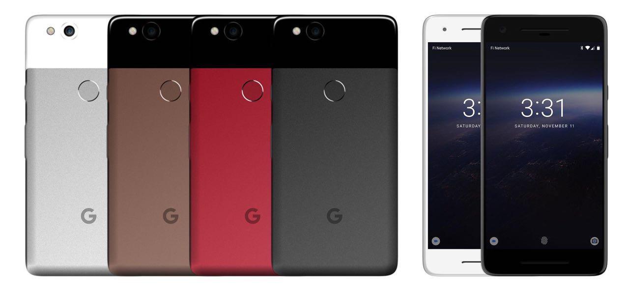 Google Pixel 2 на фото и рендерах. Что изменилось?