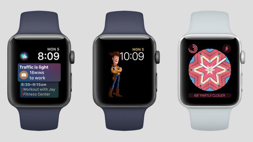 Новое в watchOS 4 beta 5
