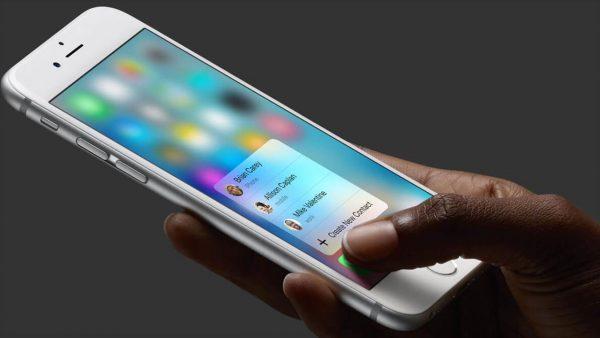 Apple получила патент на ультразвуковой датчик 3D Touch