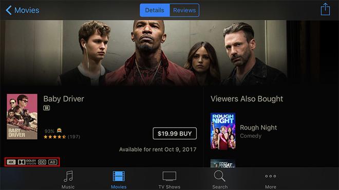 Apple начала выпускать 4K контент для новой Apple TV