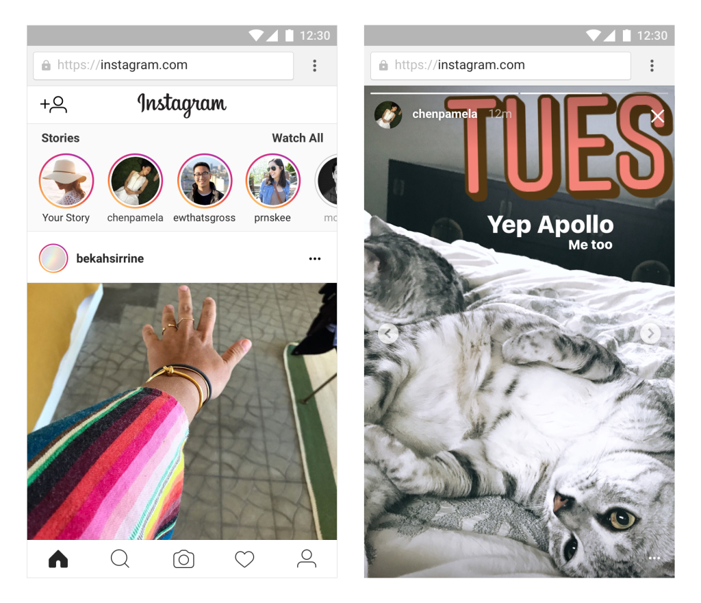 Обновление Instagram: Stories в веб-версии и новые фильтры