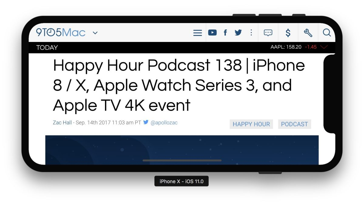 Разработчики уже экспериментируют с дисплеем iPhone X