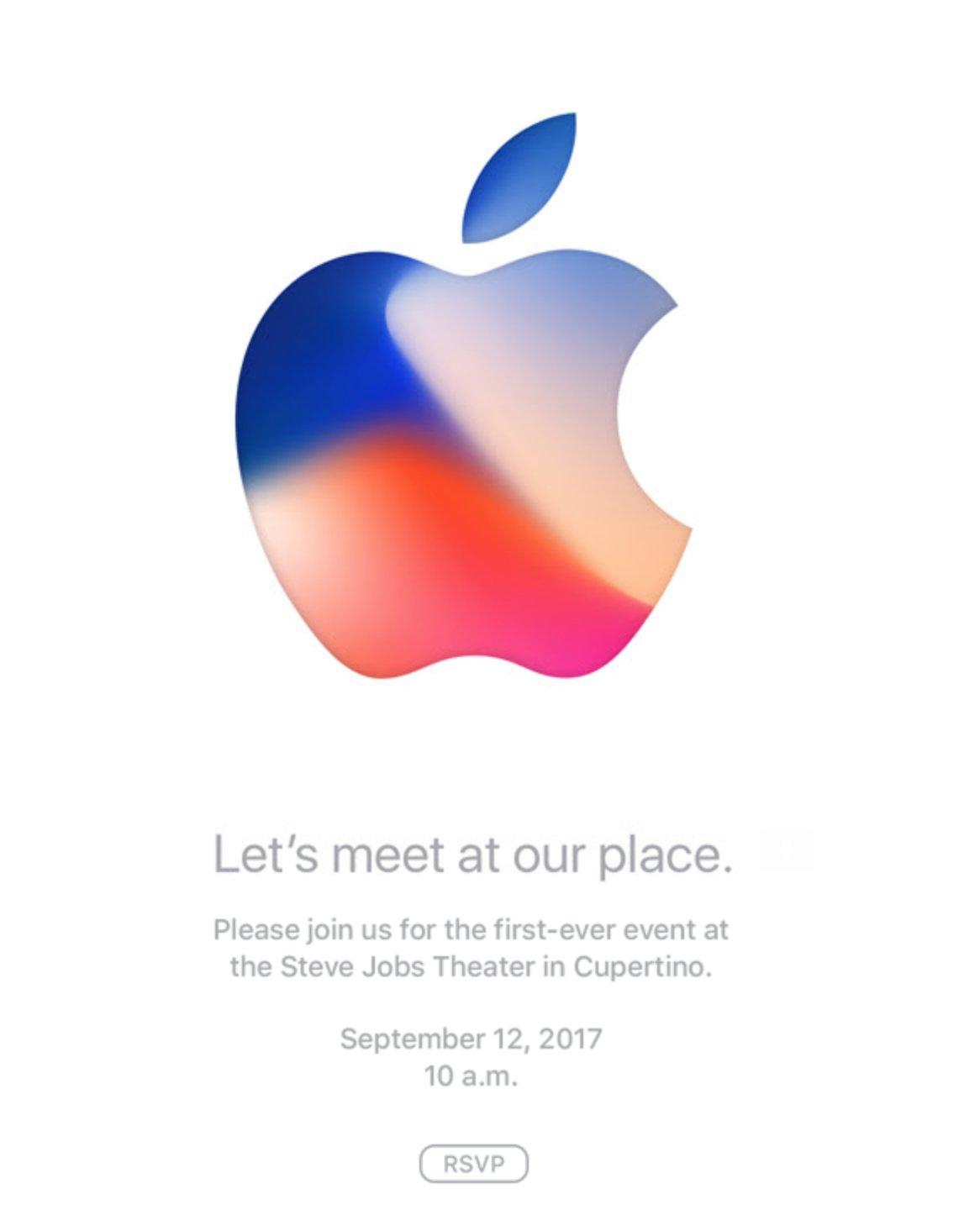 Увидимся 12 сентября, iPhone 8!