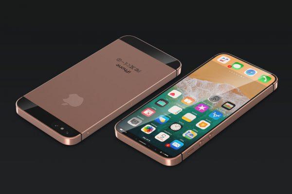 Дизайнеры показали концепт iPhone SE в стиле iPhone X