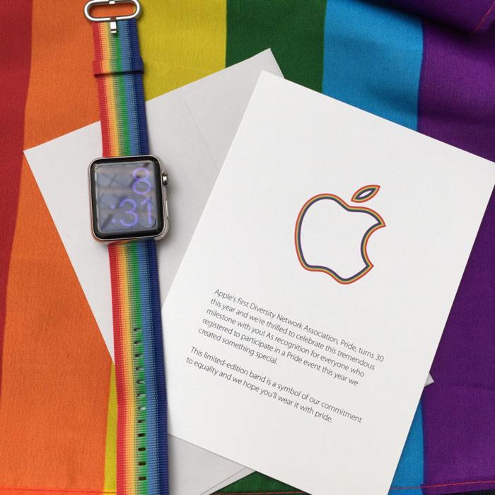 Apple больше не продает ремешки Pride Edition для Apple Watch