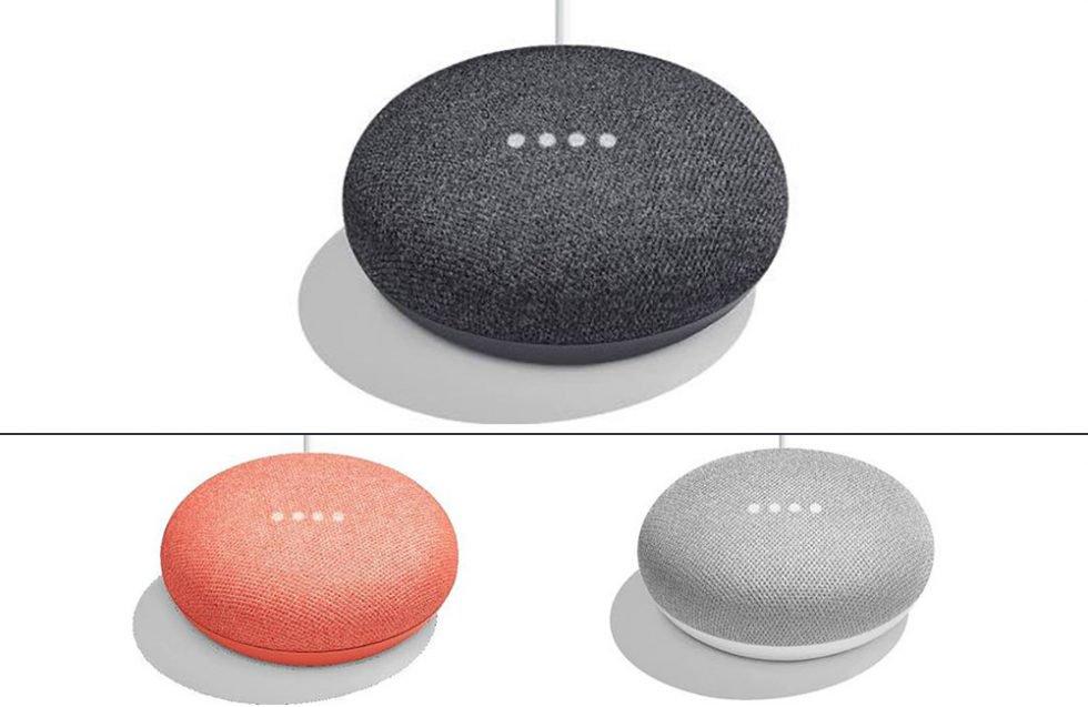 В сеть утекли подробности релиза «умной» колонки Google Home Mini