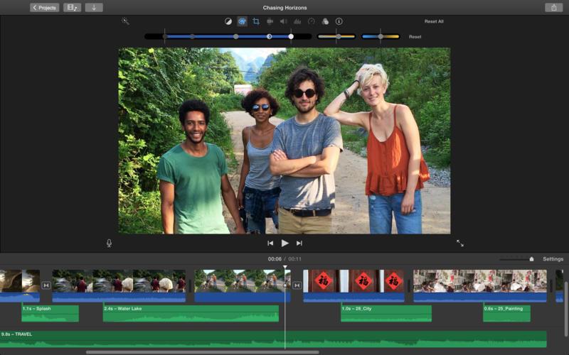 Apple обновила приложение iMovie