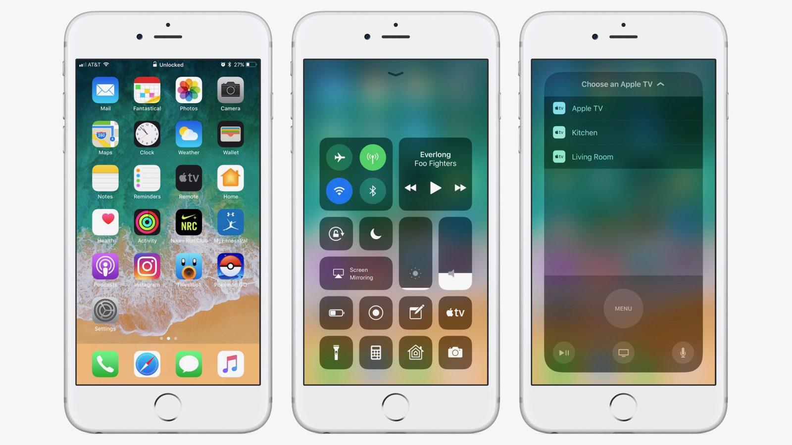 Apple выпустила iOS 11.1 beta 1 для разработчиков
