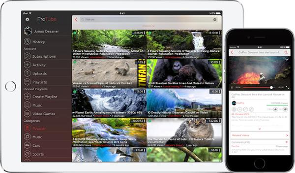 Apple удалила ProTube из AppStore
