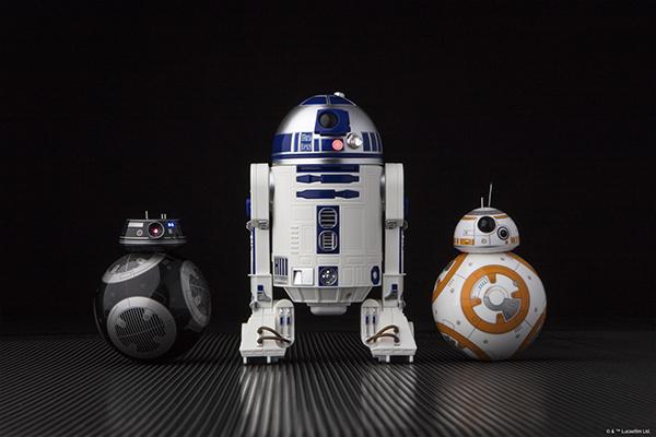 Анонсированы радиоуправляемые R2-D2 и BB-9E из «Звездных Войн»