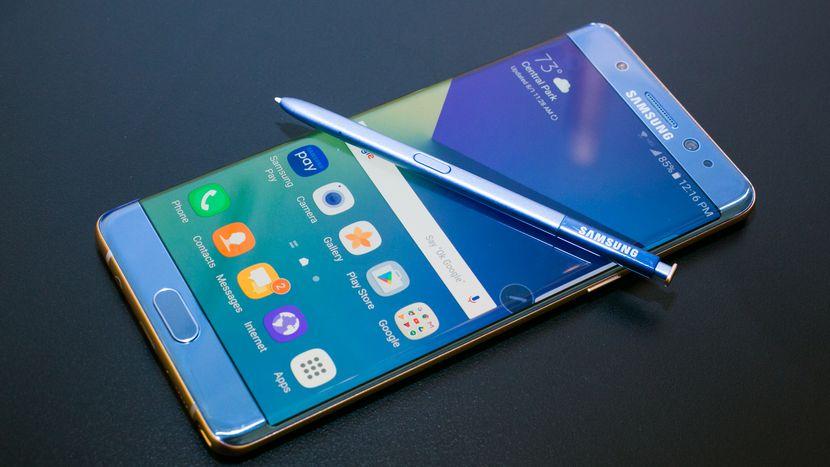 Восстановленный Samsung Galaxy Note 7 распродан спустя два месяца